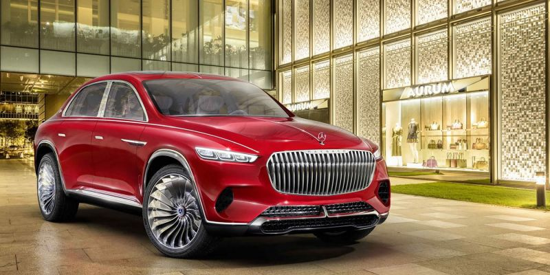Mercedes-Maybach Ultimate Luxury: кросс-седан рассекречен
