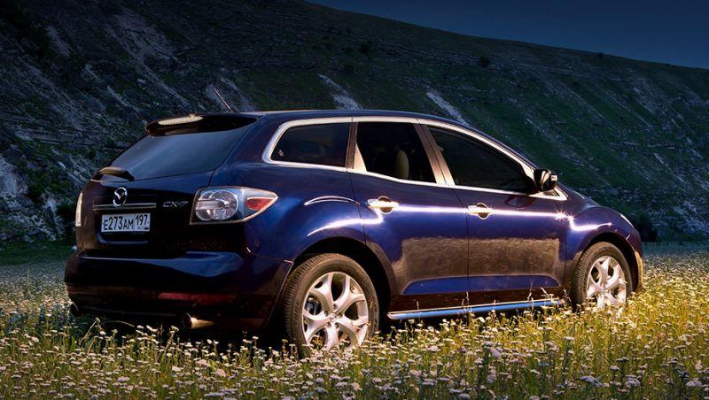 В России отзывную кампанию начала компания Mazda
