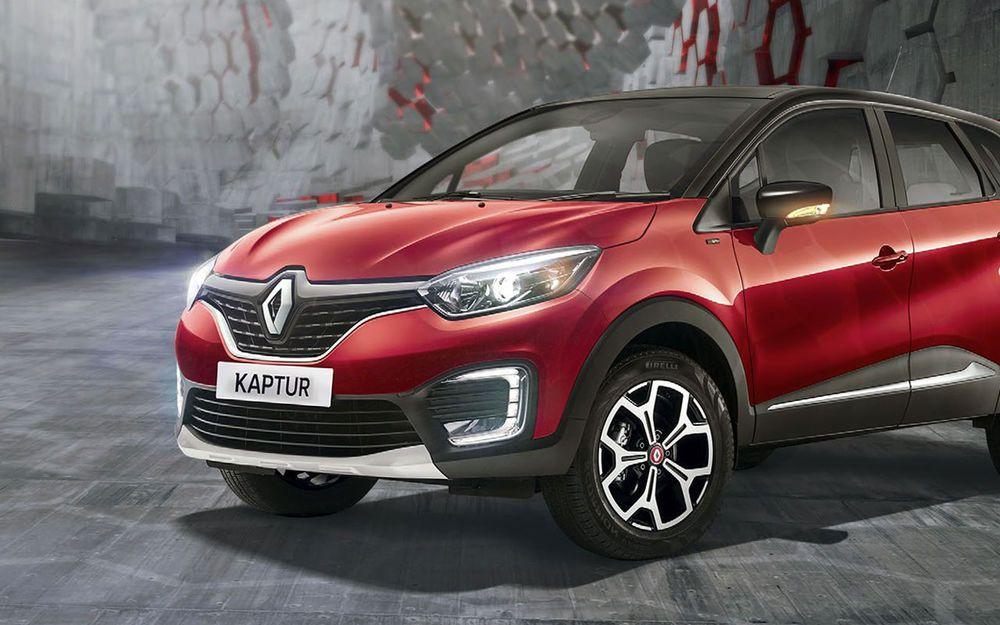 У Renault Kaptur неисправен замок капота