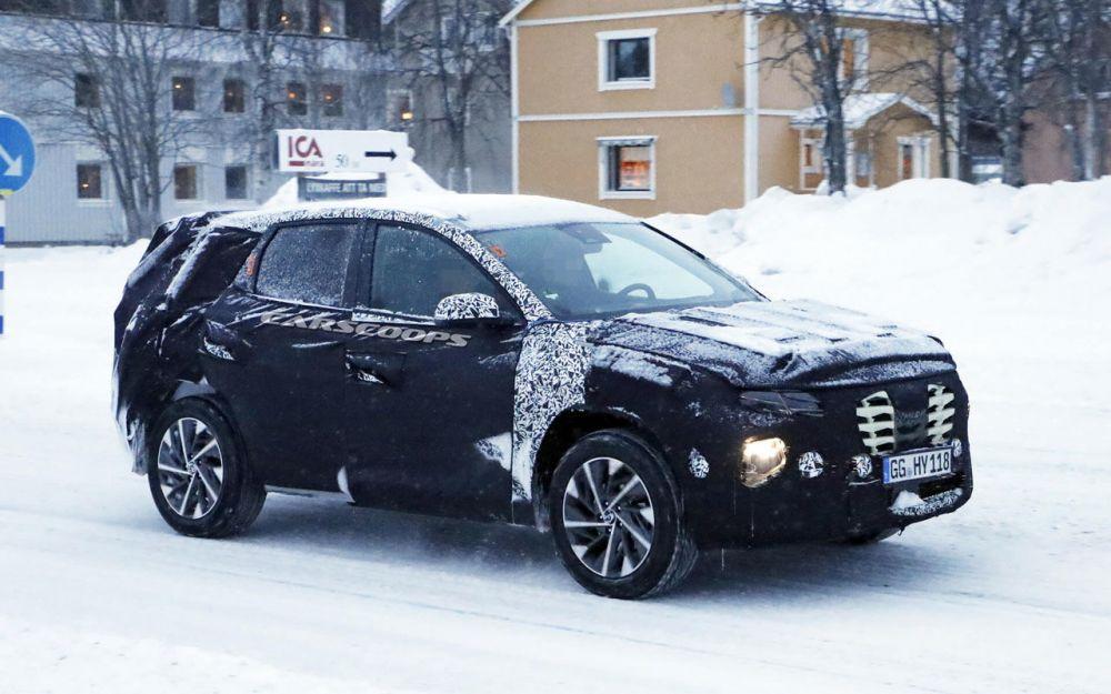 Компания Hyundai готовит к выпуску новую версию Tucson