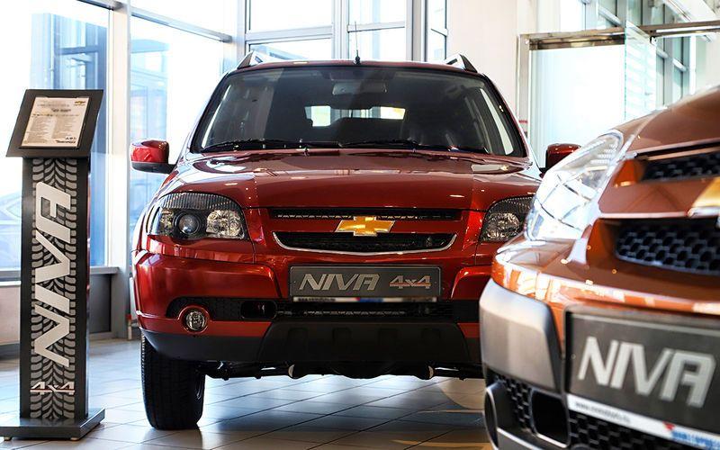 Автомобили Chevrolet Niva подросли в цене