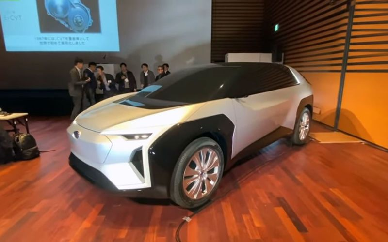 Subaru и Toyota подготовили совместный кроссовер