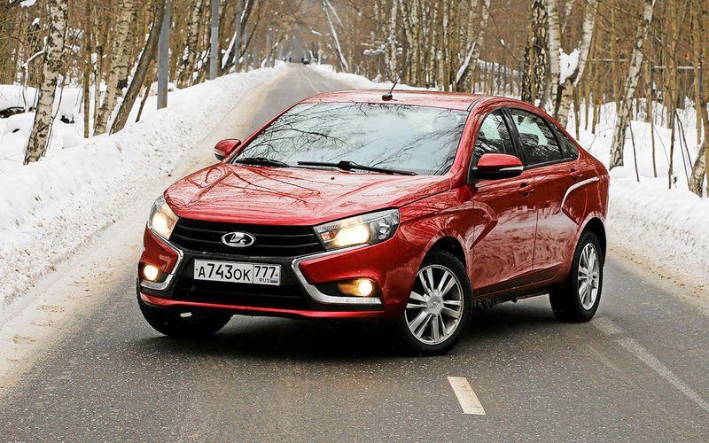 Автопроизводитель АВТОВАЗ обновил цены на Lada Vesta