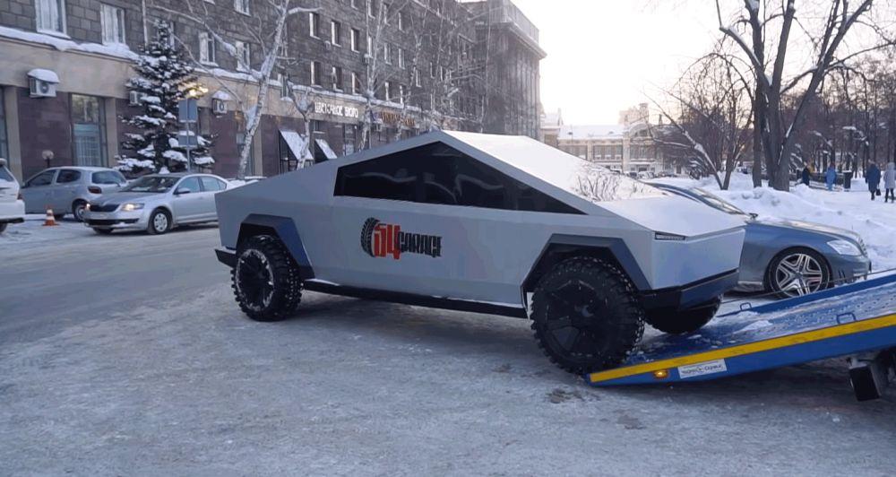 Cybertruck собрали на базе УАЗ