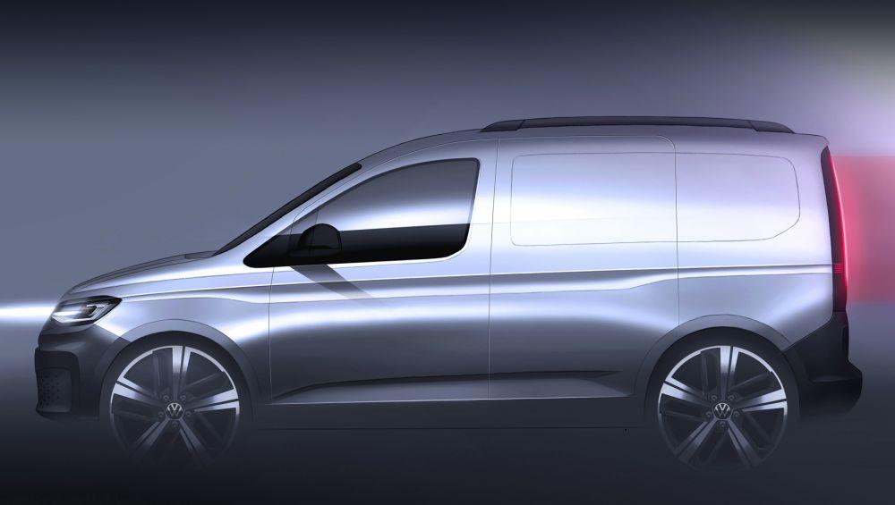 Volkswagen выпустит обновленную модель Caddy в феврале