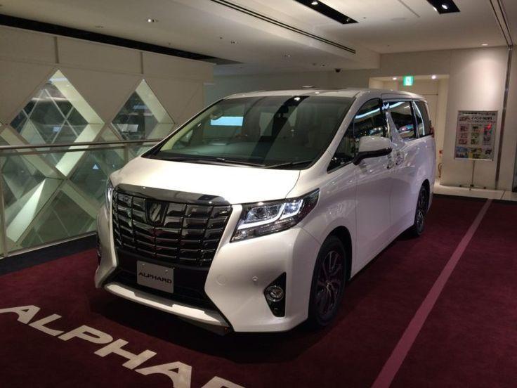 Toyota отзывает Alphard на сервис