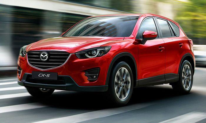 Mazda отзывает кроссоверы CX-5