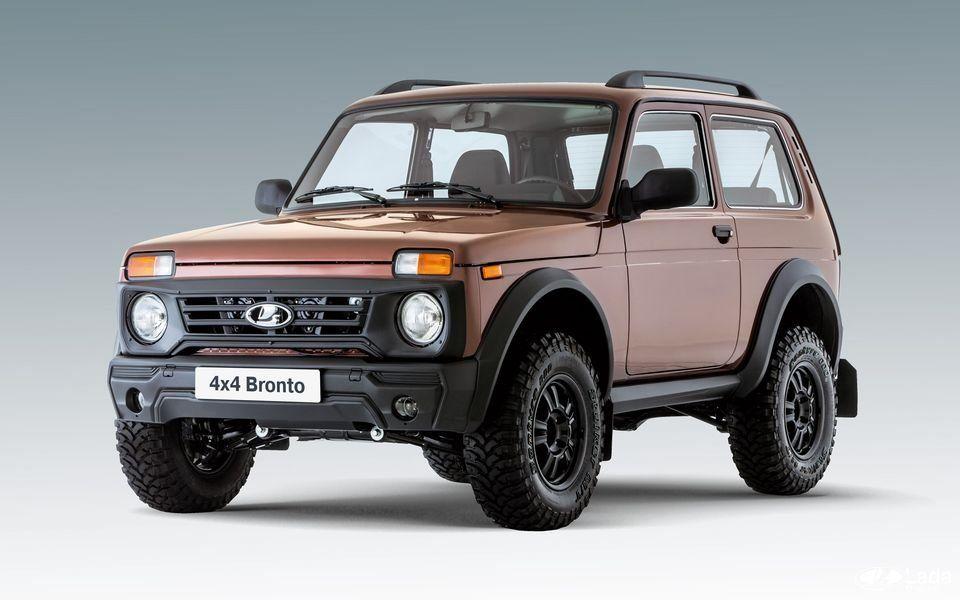 Lada 4х4 Бронто обновится в середине 2020