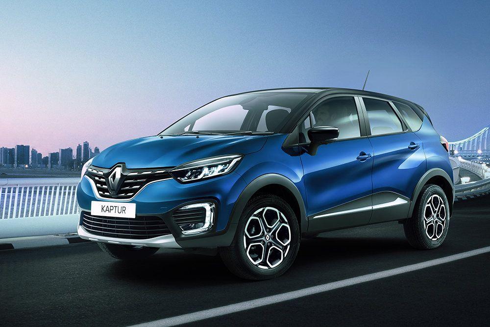 Модернизованный Renault Kaptur скоро в России