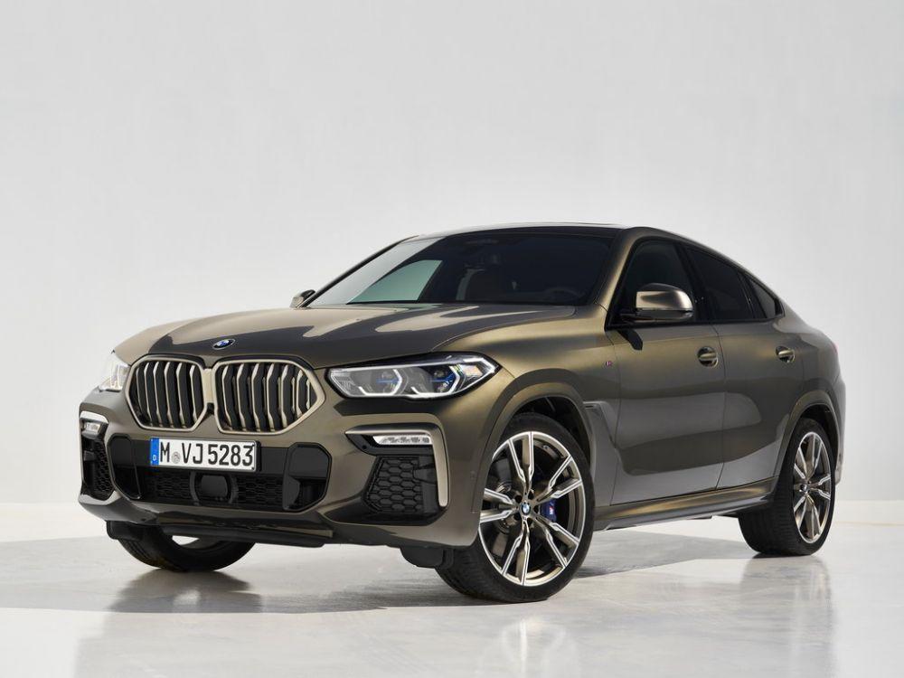 BMW X6 начали собирать в Калининграде