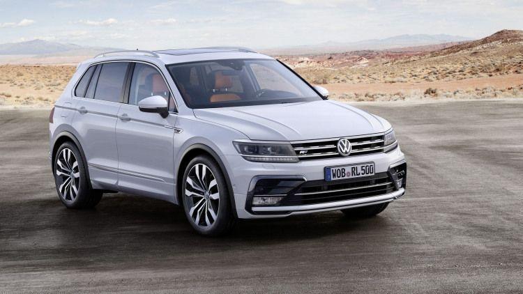 VW Tiguan стал самым популярным кроссовером в России