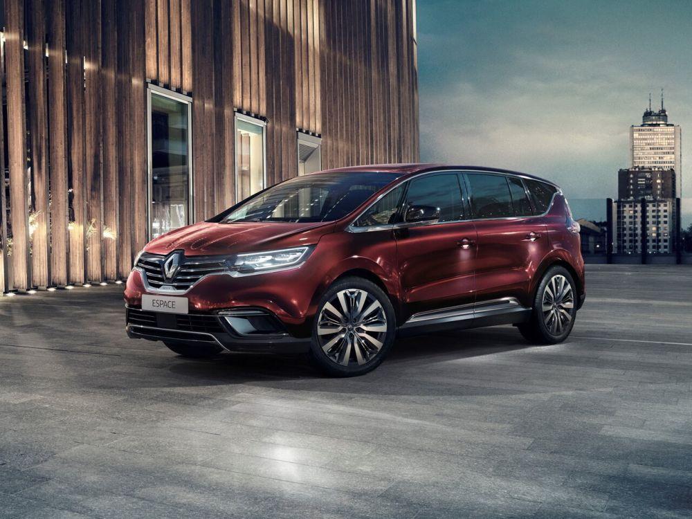 Минивэн Renault Espace уходит с рынка