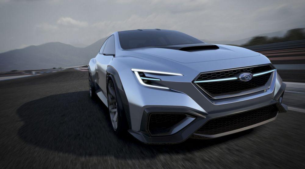 Новый Subaru WRX STI станет мощнее