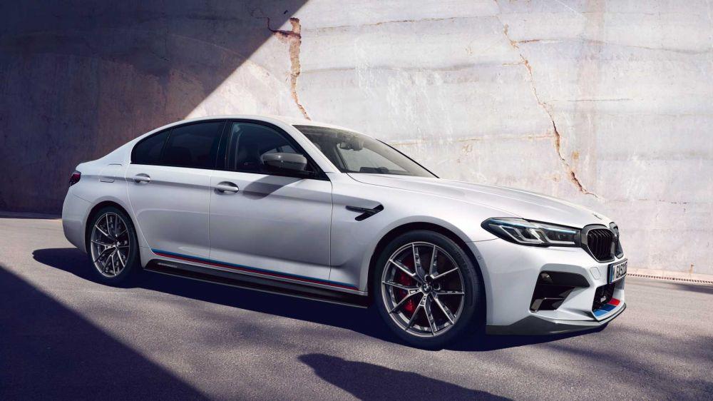 Опциональные компоненты для нового BMW 5