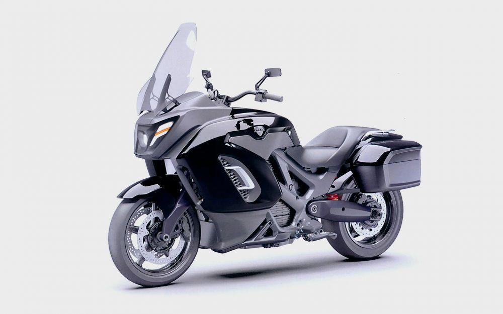 Новинка от Aurus - электрический мотоцикл