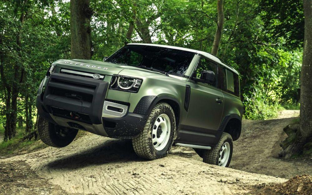 Модернизированный Land Rover Defender
