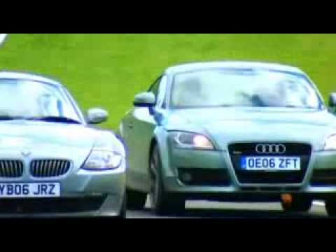 Fifth Gear - Audi TT Mk2 3.2 VS BMW Z4 3.0