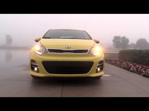 2016 Kia Rio five-door hatchback b-roll video