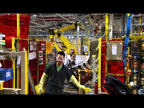 2015 Ford Edge production at Oakville Assembly