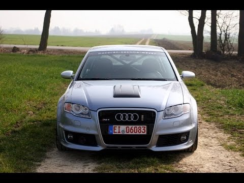 MTM Supercharged B7 Audi RS4 Clubsport!