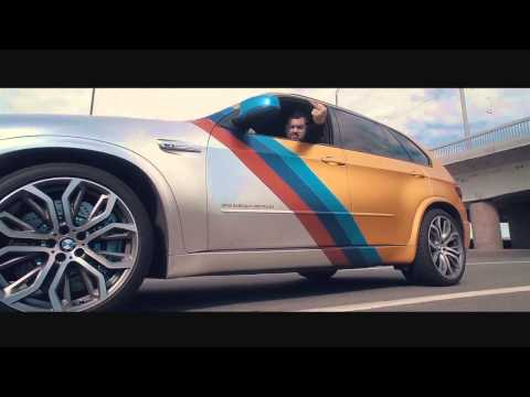 Давидыч в ГТА! BMW X5M Gold Edition.