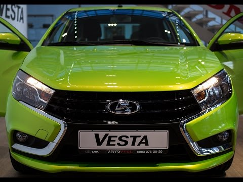 ТЕСТ ДРАЙВ ЛАДА ВЕСТА TEST DRIVE LADA VESTA NEW 2015