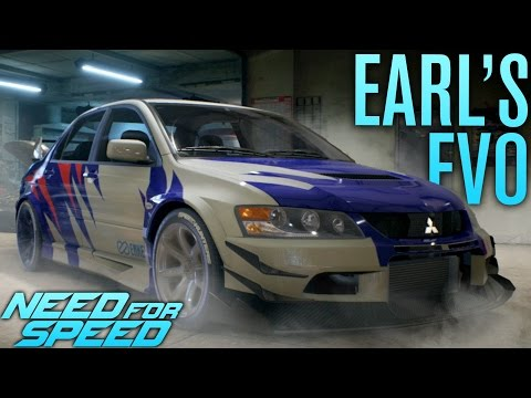 BUILDING EARL'S LANCER EVO | Need for Speed 2015 Gameplay