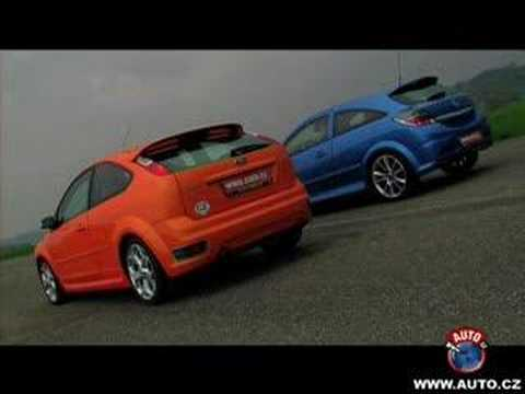 Ford Focus ST vs. Opel Astra OPC