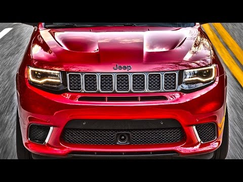 Обзор Jeep Grand Cherokee SRT8 Trackhawk