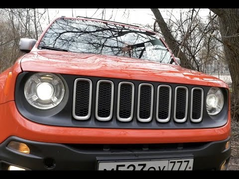 Тест-драйв Jeep Renegade 2017