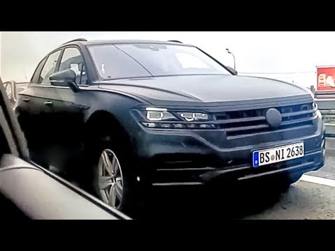 All new Touareg 2018 Exclusive test in Russia, Moscow