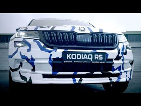 New 2019 Skoda Kodiaq RS At Nurburgring
