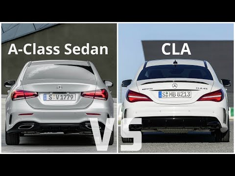 Mercedes A-Class Sedan 2019 vs Mercedes CLA 45 AMG