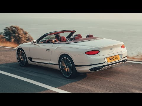 Bentley Continental GT Convertible — официальное видео