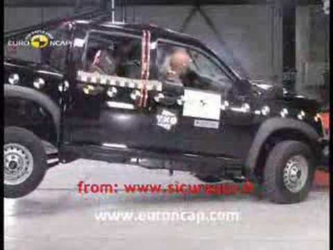 Crash Test 2008 Isuzu  I Series / D Max / Rodeo EuroNcap