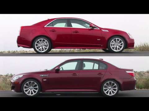 Motortrend - Cadillac CTS-V vs BMW M5 - Performance Testing