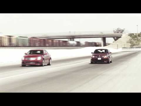 Motortrend - Cadillac CTS-V vs BMW M5 - Drag Race