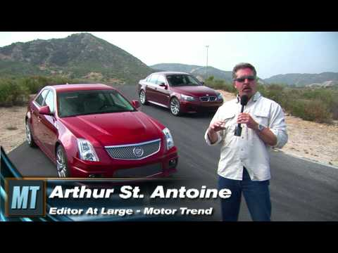 Motortrend - Cadillac CTS-V vs BMW M5 - Road Course Battle