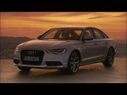 Audi A6 raw footage - driving and statics shots