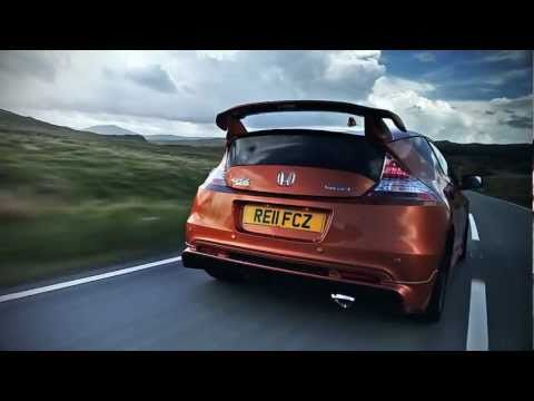 Supercharged Honda CR-Z MUGEN in action