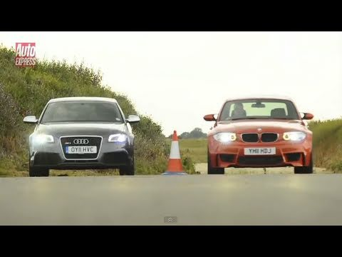 Audi RS3 Sportback vs. BMW 1-Series M Coupe