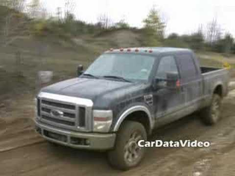 Новый 2008 Ford SuperDuty Pickups offroad