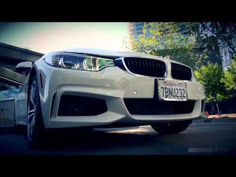 BMW 435i M Sport xDrive Coupe (F32) in Alpine White