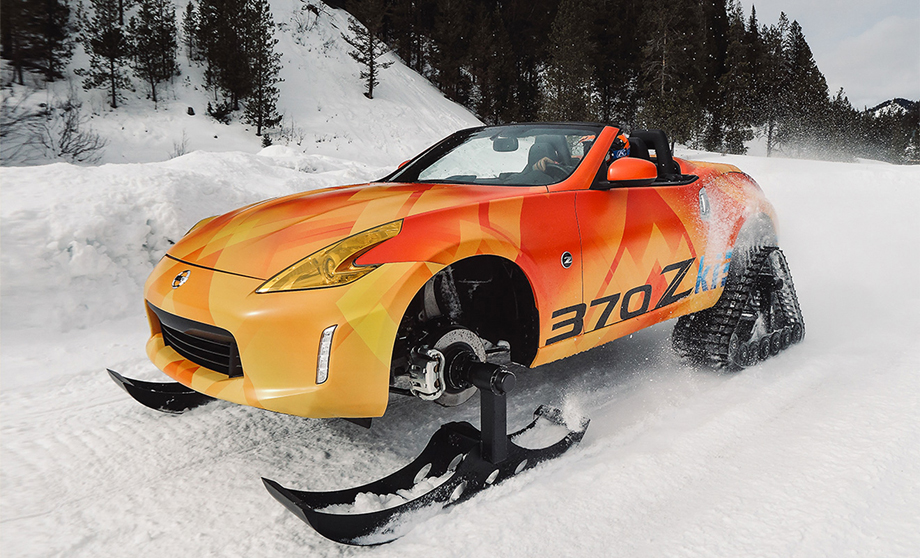 Nissan 370Z Track Truck