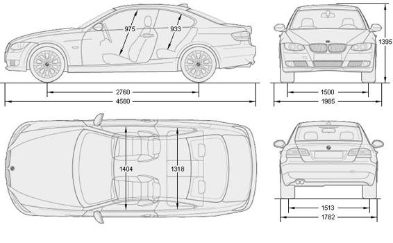 BMW 3-series E92
