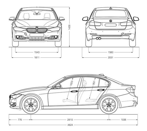 новый седан BMW 3-Series шестого поколения