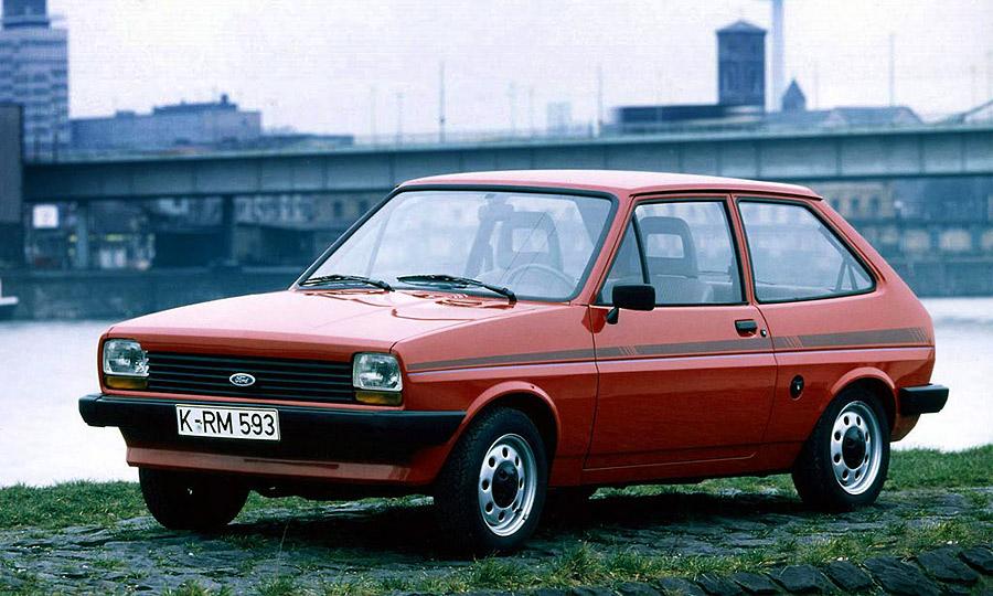 версии ford fiesta 1976